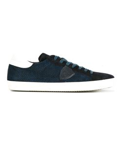 Philippe Model | Lateral Patch Sneakers 42 Suede/Leather/Rubber