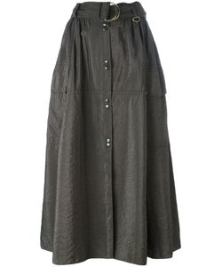 Nina Ricci | Snap Button Front Midi Skirt Size 40