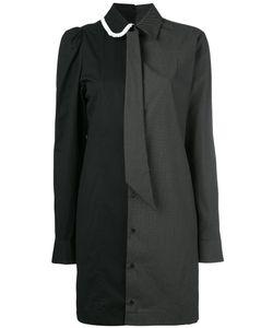 A.F.Vandevorst   Two-Tone Collared Dress Women