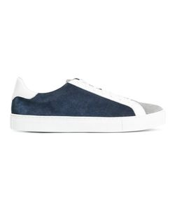 Eleventy   Lace-Up Sneakers 45 Suede/Leather/Rubber