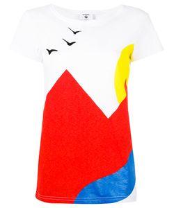 ROSSIGNOL   Colour Block T-Shirt Size Medium