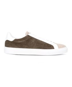 Eleventy   Lace-Up Sneakers 42 Suede/Leather/Rubber