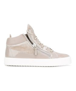 Giuseppe Zanotti Design | Kriss Hi-Top Sneakers 40 Silk
