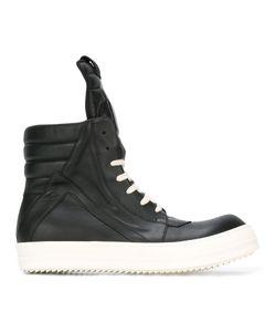 Rick Owens   Geobasket Hi-Top Sneakers 43.5 Rubber/Leather