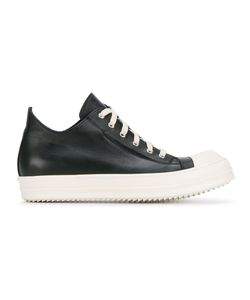 Rick Owens | Lace-Up Sneakers 45 Leather/Rubber/Calf Leather