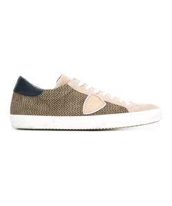 Philippe Model | Classic Perforated Sneakers Size 42