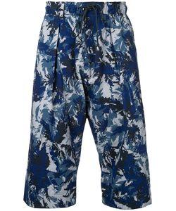KAZUYUKI KUMAGAI | Printed Cropped Trousers
