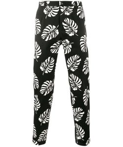 Dolce & Gabbana | Palm Leaf Print Trousers 46