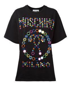 Moschino | Embroide Logo T-Shirt Large Cotton