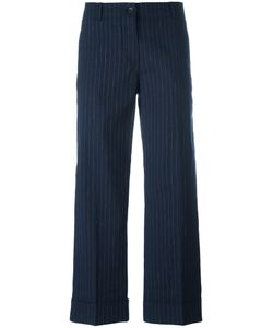 Alberto Biani | Striped Cropped Trousers Size 44