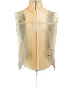 CEDRIC JACQUEMYN | Zipped Waistcoat 50 Lamb Skin