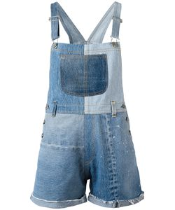 Re/Done | Patchwork Dungarees Xs