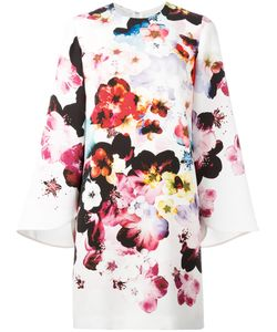 Elie Saab | Print Dress 44 Silk/Polyester