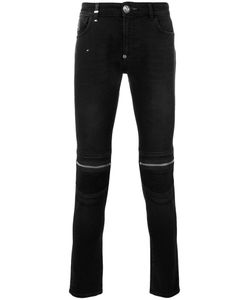 Philipp Plein | Zipped Knee Skinny Jeans