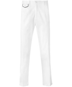 Dolce & Gabbana | Embroide Crown Chinos 54 Cotton/Spandex/Elastane