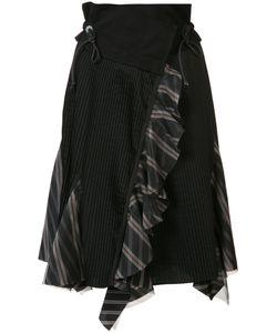 Sacai | Asymmetric Pleated Skirt 1