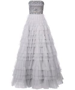 J. Mendel | Платье Без Бретелек С Вышивкой