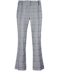 Cedric Charlier | Cédric Charlier Checked Cropped Trousers 38 Rayon/Cotton