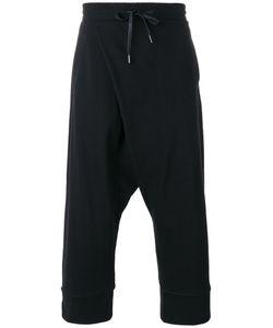 D. Gnak | D.Gnak Cropped Track Pants 32 Cotton/Spandex/Elastane