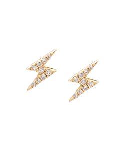 EF COLLECTION | Mini Lightning Bold Diamond Stud Earrings