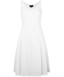 Emporio Armani | Perforated Detail Dress 44 Polyester/Spandex/Elastane/Polyamide
