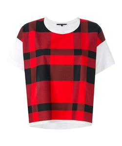 Sofie D'Hoore | Checked T-Shirt 38
