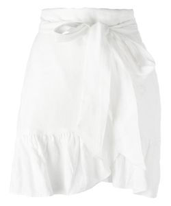 Isabel Marant Étoile | Ruffled Mini Skirt 38 Linen/Flax/Viscose