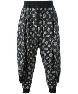 Ktz | Tied Up Monogram Joggers Large Cotton