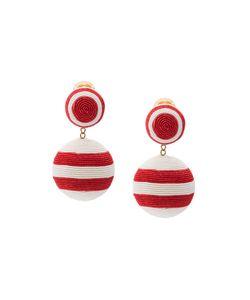 Rebecca De Ravenel | 2 Drop Striped Earring Women