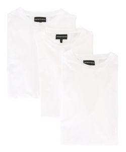 Emporio Armani   Logo Print T-Shirt Small Cotton