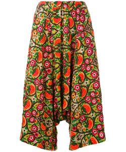 COMME DES GARCONS COMME DES GARCONS | Comme Des Garçons Comme Des Garçons Wide Leg Cropped Trousers