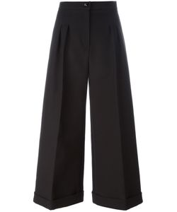 Fendi | High-Waisted Palazzo Pants 42 Cotton/Plastic