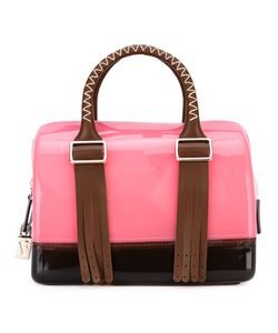 Furla | Boston Leather-Trimmed Tote One