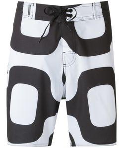 Osklen | Printed Bermuda Shorts 44 Polyester/Spandex/Elastane