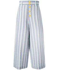 See By Chloe | See By Chloé Striped Cropped Trousers Size