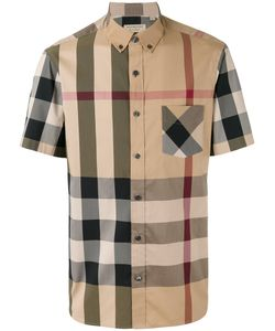 Burberry | Checked Shortsleeved Shirt Size Xl