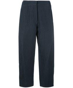 Armani Collezioni | Cropped Pants 46 Linen/Flax/Silk
