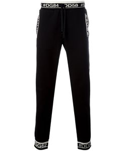 Dolce & Gabbana | Hastag Detail Track Pants 54 Cotton