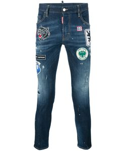 Dsquared2 | Skater Patch Jeans 50 Cotton/Spandex/Elastane/Polyester