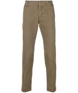 Entre Amis | Classic Fitted Chino Trousers Men