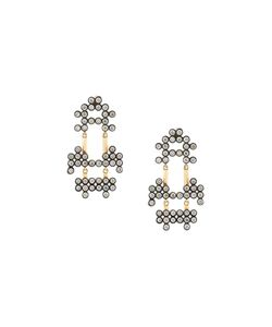 Yannis Sergakis | 18kt Charnières Diamond Drop Earrings