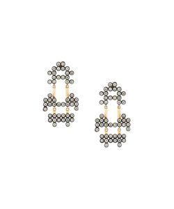 Yannis Sergakis | 18kt Charnières Diamond Drop Earrings
