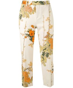 Pt01 | Print Cropped Trousers 40