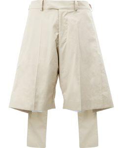 Yang Li | Oversize Layer Effect Shorts Size 36