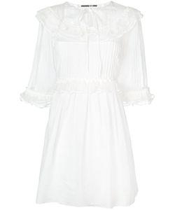 Mcq Alexander Mcqueen | Платье С Присборенной Отделкой