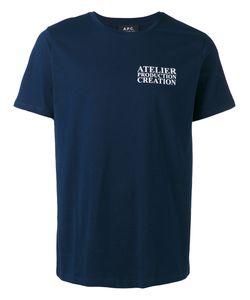 A.P.C. | A.P.C. Atelier De Production T-Shirt Size Medium