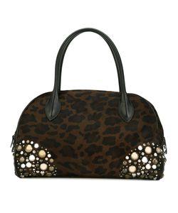 Alaïa | Декорированная Сумка С Леопардовым Принтом Vintage