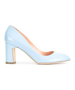 Rupert Sanderson | Bertha Pumps 38 Leather/Patent Leather