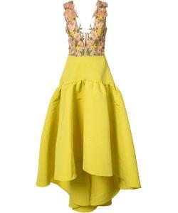 Marchesa Notte | Embroidery Applique Dress