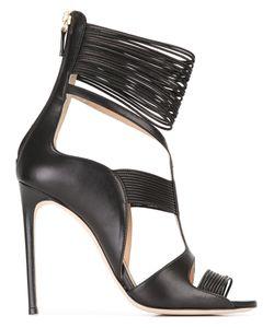 RACINE CARRÉE | Ankle Strap Sandals 37.5 Leather
